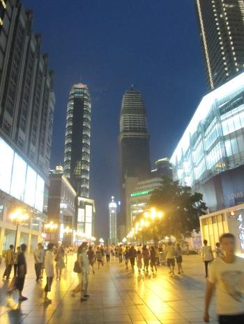 Jiefangbei Square downtown