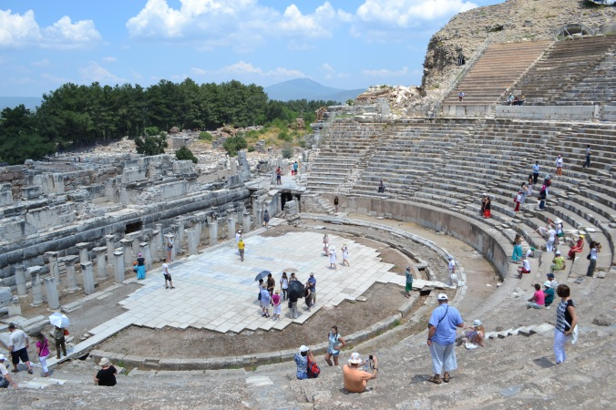 "the ""Great theatre"""